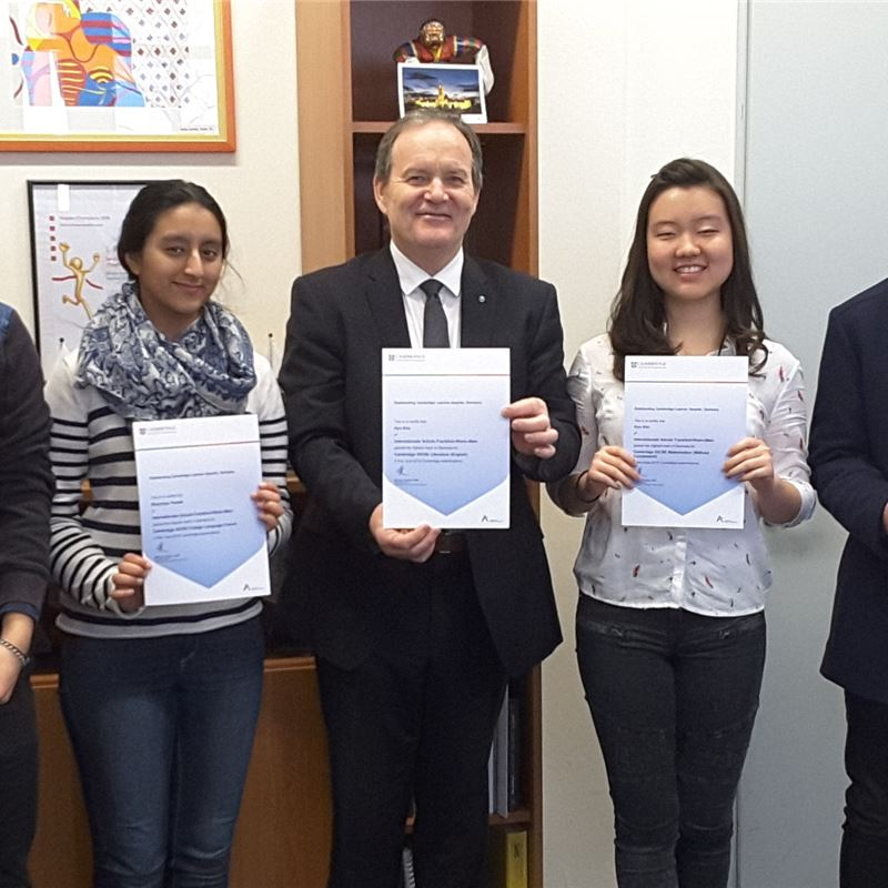 ISF Students Recognised as the Best in Germany
