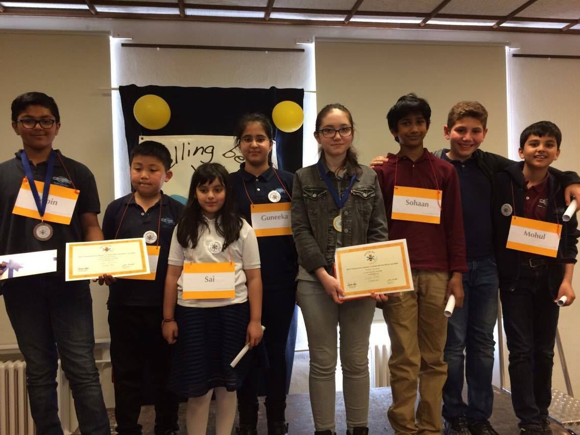 Spelling Bee Success for ISF Students