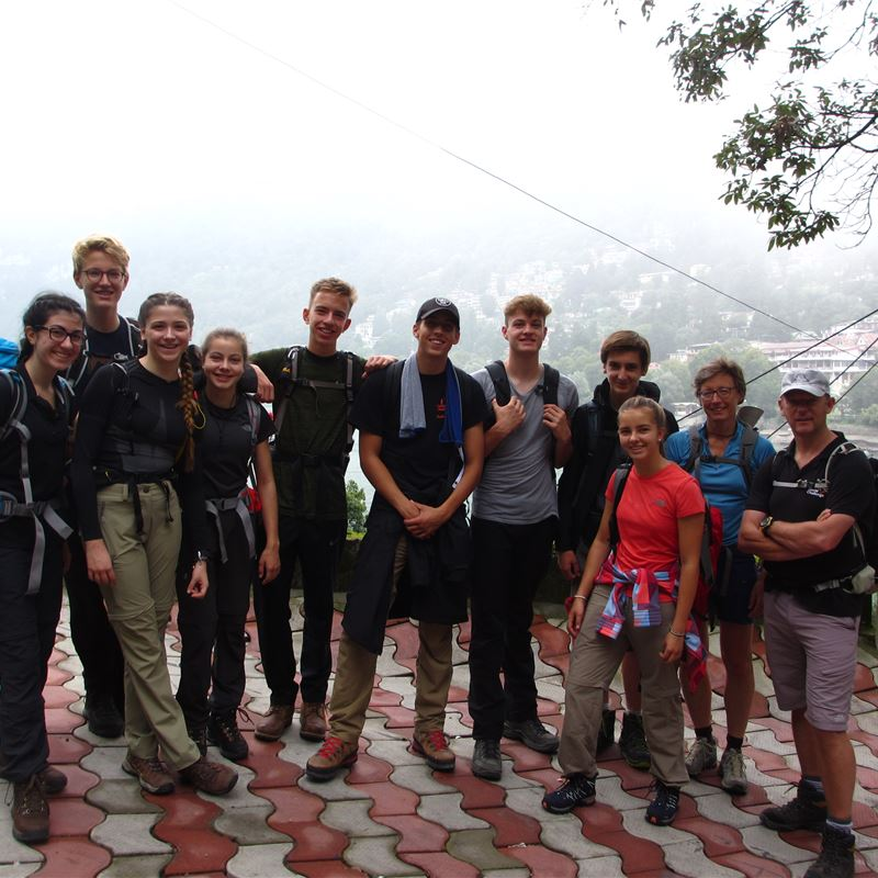 ISF World Challenge to Northern India, July 2017