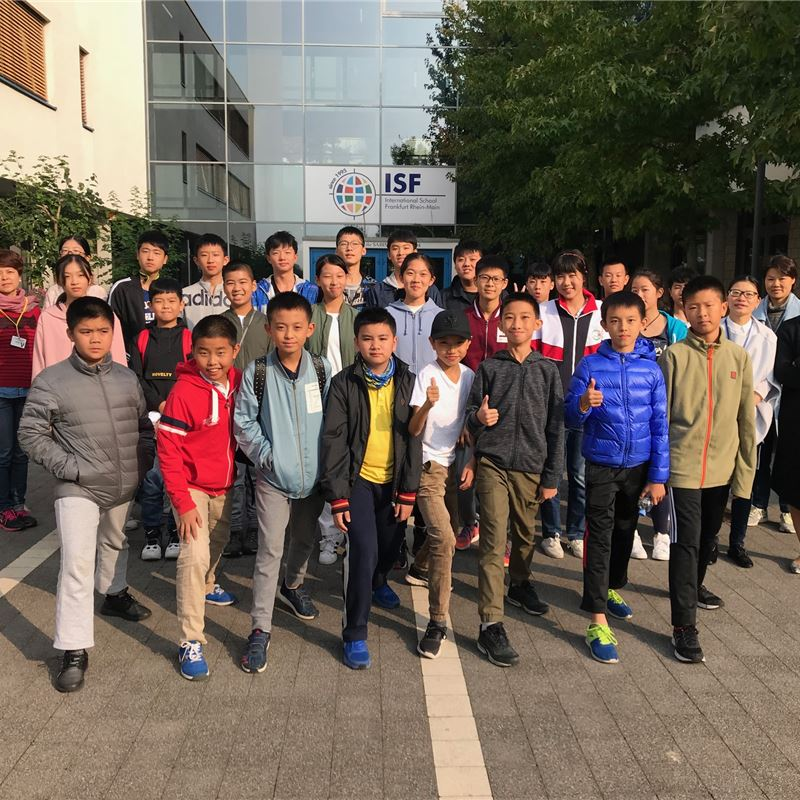Chinese Students Visit ISF