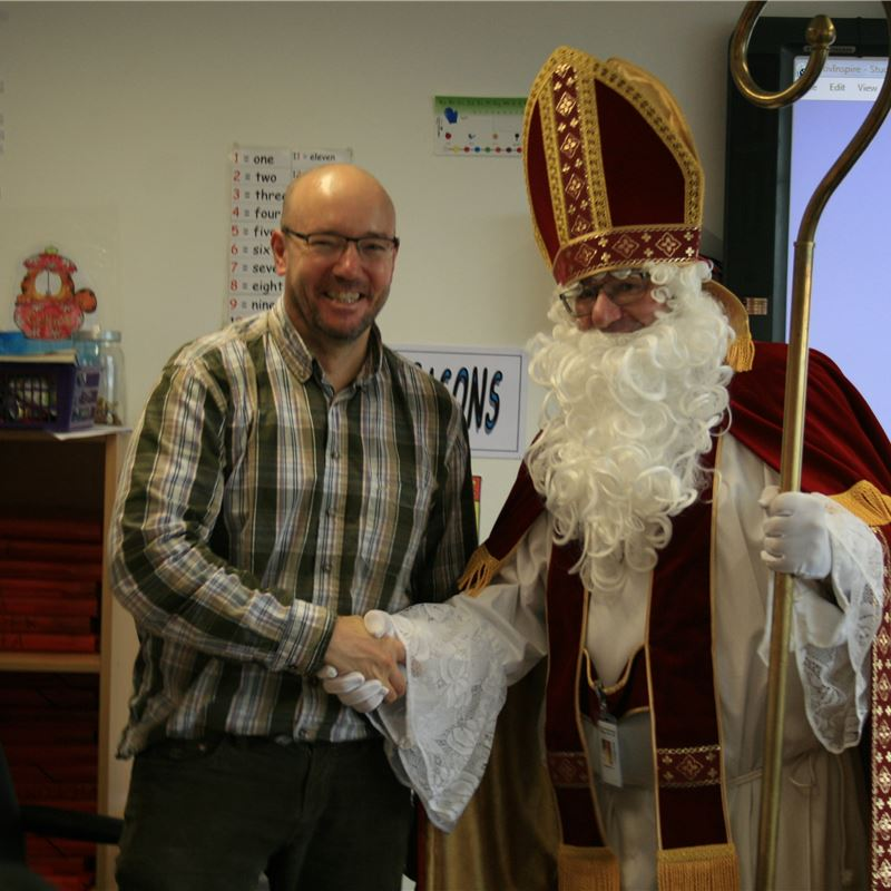 Sinterklaas at ISF