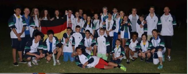 ISF -Team Germany- competes in the 10th SABIS® Regional Tournament in the UAE