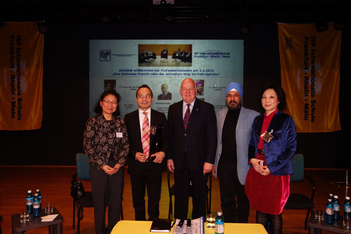 The German-Asian Business Circle Visits ISF