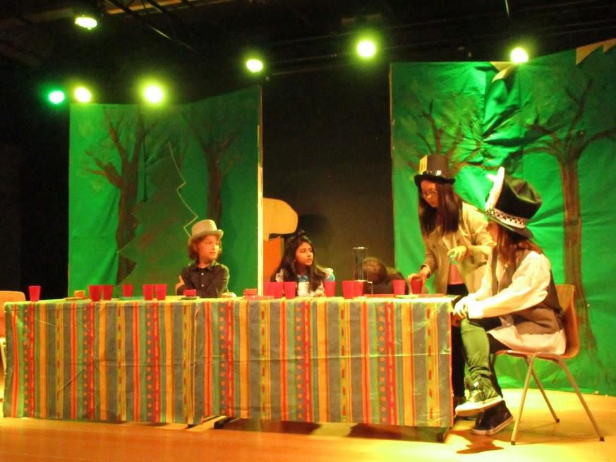 "ISF stages ""Romeo and Juliet"" and ""Alice in Wonderland"""
