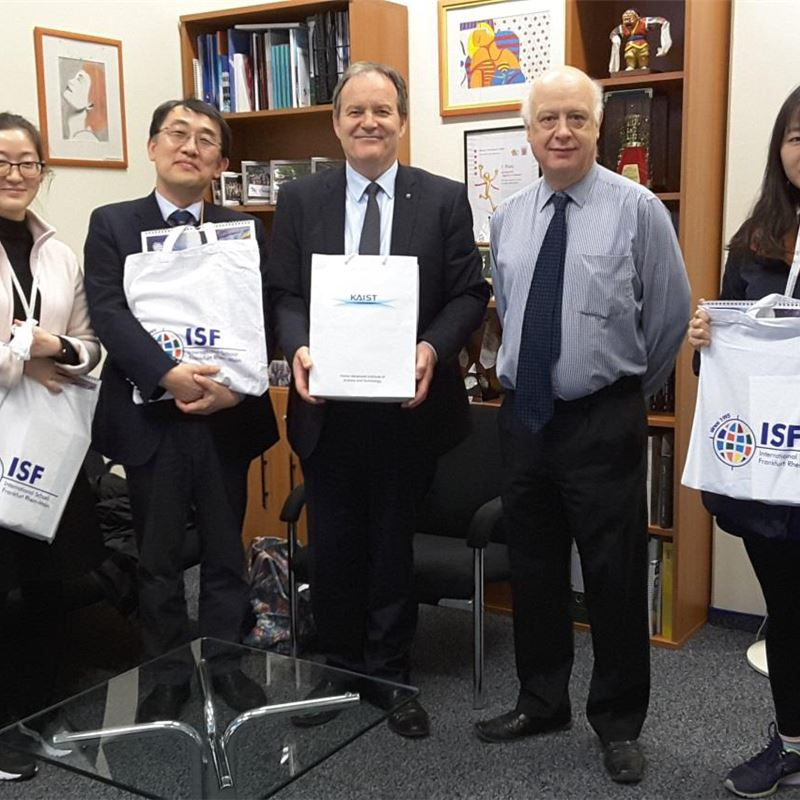 Visit from KAIST University Korea
