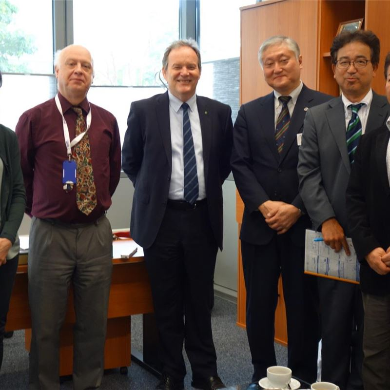 Visit From Tsukuba University, Japan