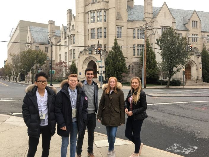 Grade 10 Student in World Scholars Cup Finals at Yale University
