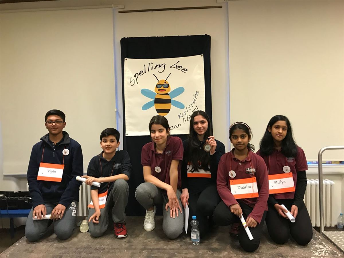 Spelling Bee Finals in Karlsruhe
