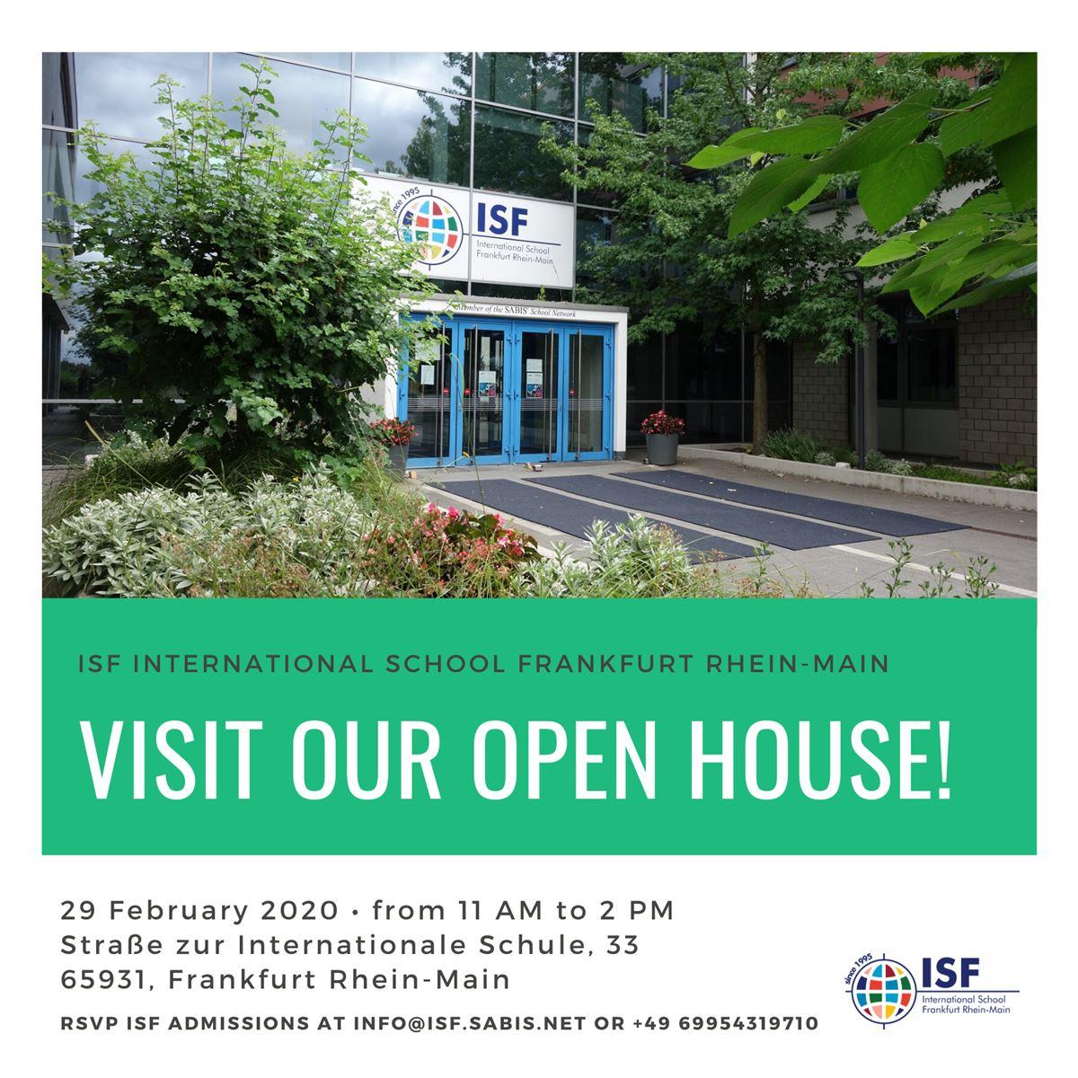 ISF International School Frankfurt Rhein Main